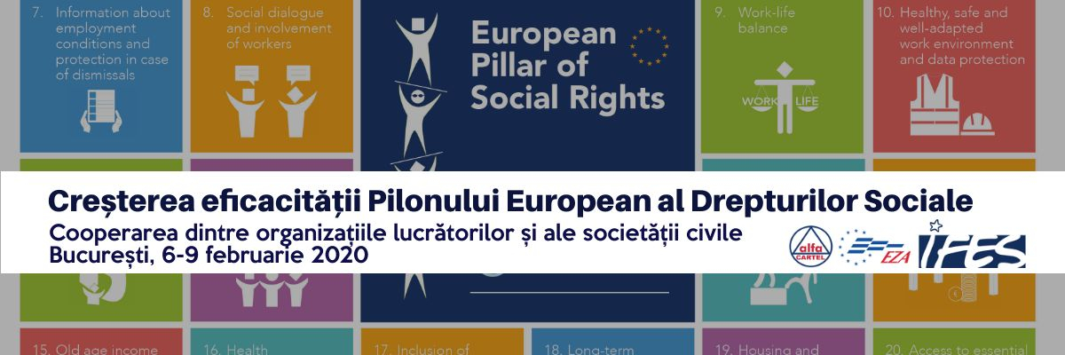 Cooperation of workers' organisations and other civil society organisations to raise the effectiveness of the European Pillar of Social Rights (EPSR)